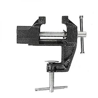 Lifting hooks  clamps shackles universal rotating simple mini vise length max : 35mm; Base clamping thickness:35mm