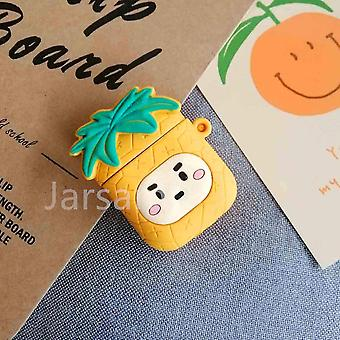 Musical instrument amplifier covers cases cute cartoon 3d silicone earphone case covers for airpods 1 2 smallpineapple