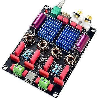 Tpa3116 2.0 dual chip wima high-end digitale eindversterker board (100w+100w)