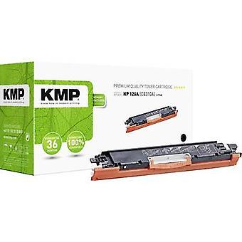 El cartucho de tóner KMP H-T148 reemplazó al cartucho de tóner compatible con hp 126A, CE310A negro 1200 lados