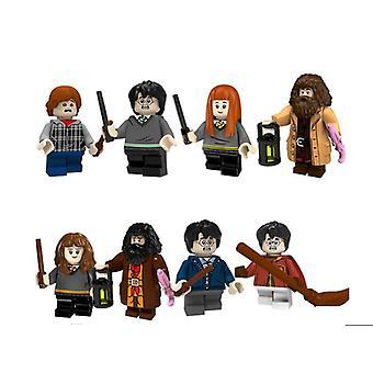 8pcs Harry Potter Building Blocks Juguetes de building block para niños