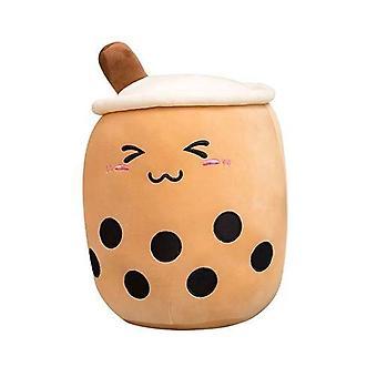 Taza de té con leche de felpar 25cm Marrón