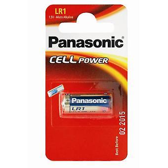 Panasonic batteria LR1 batteria da 1,5 v (tipo N / MN9100)-confezione da 10