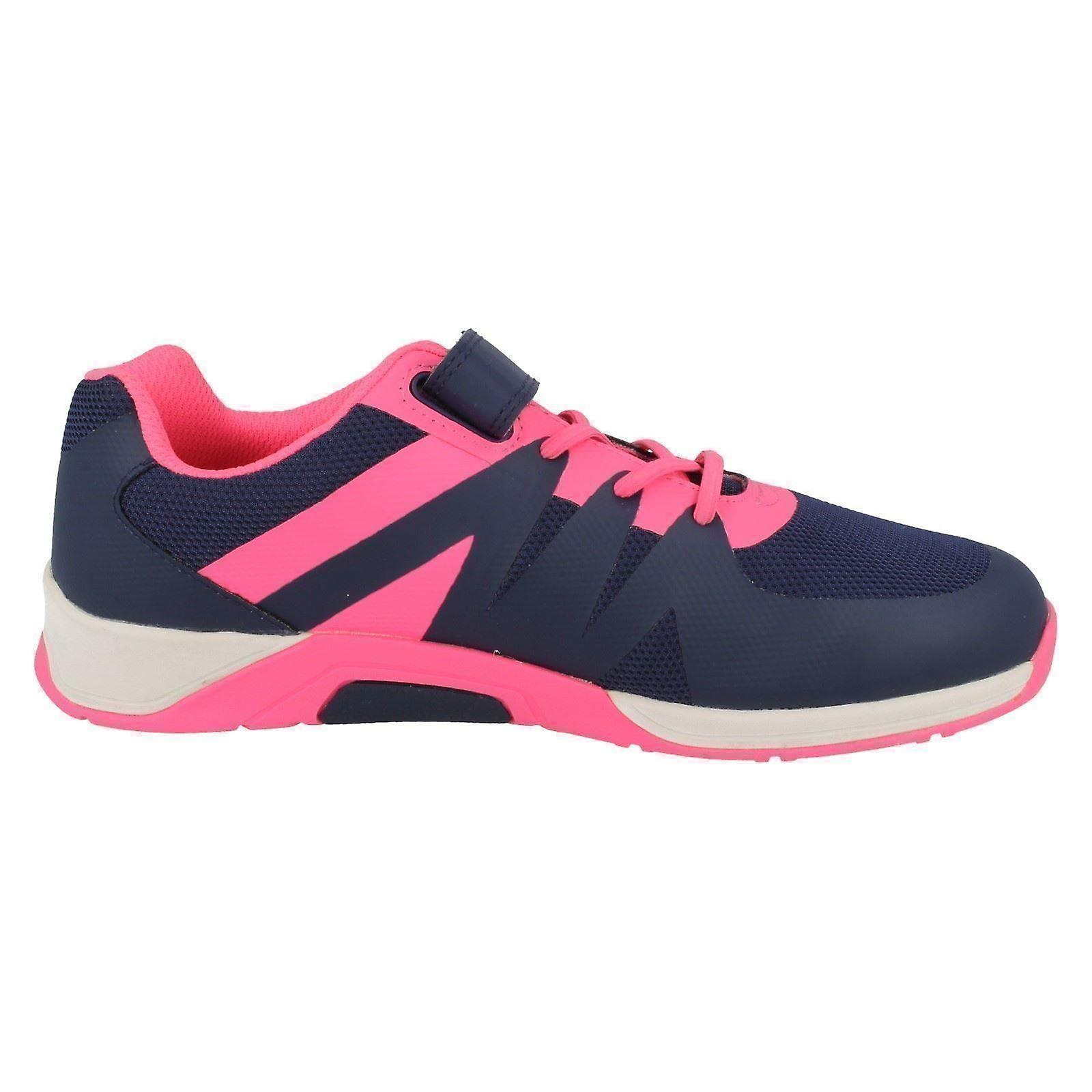 Girls Cica by Clarks Machine Washable Trainers Trace Star