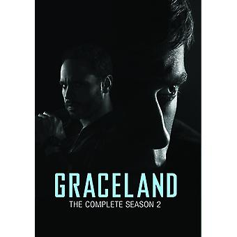Graceland säsong 2 [DVD] USA import
