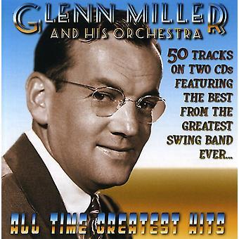 Glenn Miller & His Orchestra - Glenn Millers All Time Greatest Hits [CD] USA import
