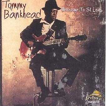 Tommy Bankhead - Message to st. Louis [CD] USA import
