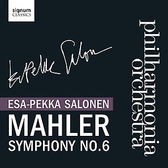 Esa-Pekka Salonen - Mahler: Symphony No. 6 [CD] USA import