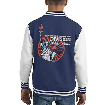 New York City Division Kid's Varsity Ceket