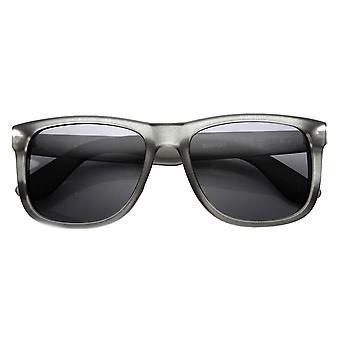 Mens Retro Large KUSH Brand Plastic Horned Rimmed Sunglasses