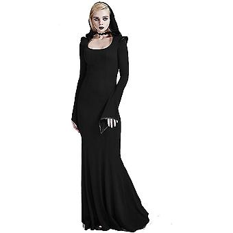 Fantasmogoria - enchantress dress - womens gothic hooded dress