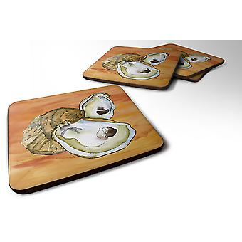 Carolines Treasures  8142-FC Set of 4 Oyster  Foam Coasters