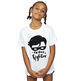 DC Comics Girls Batman Crime Fighter Sketch T-Shirt