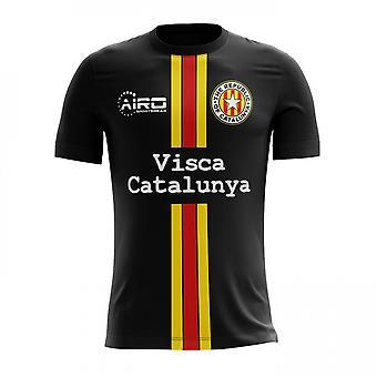 2017-2018年カタルーニャ第 3 概念サッカー シャツ