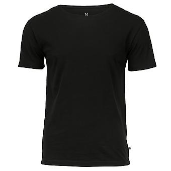 Nimbus Mens Bedford Wide Neck Combed Cotton Relaxed Attitude T-Shirt