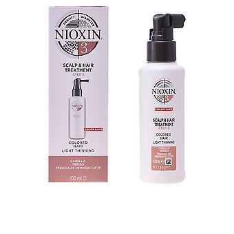 Nioxin System 3 tratamento de couro cabeludo cabelos finos 100ml Unisex