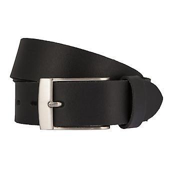 LLOYD Men's Belts Gürtel Herrengürtel Ledergürtel Schwarz 6615