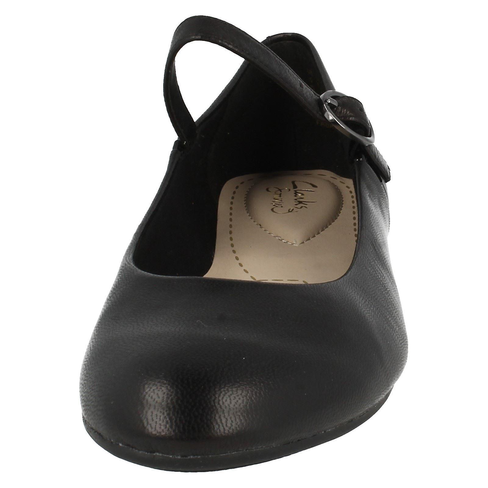 Ladies Clarks flate sko Alicia Claire