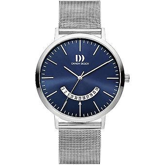 Relógio de design dinamarquês mens IQ68Q1239 TIDLØS coleção