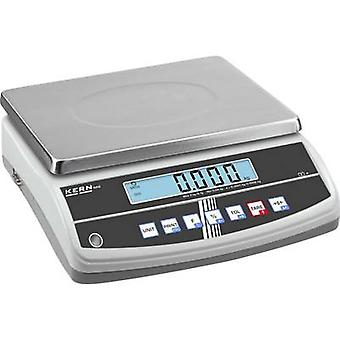 Kern GAB 30K0.2N Table top scales Weight range 30 kg Readability 0.2 g mains-powered, rechargeable Silver