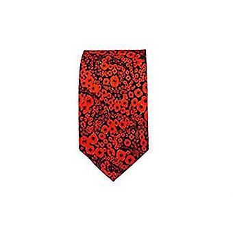 罂粟丝领带