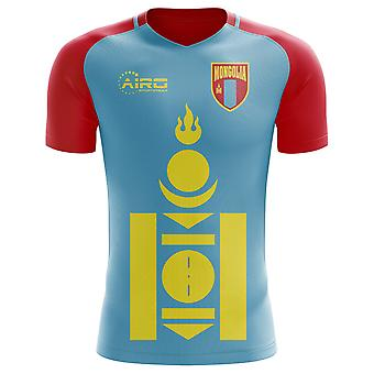 2020-2021 Mongolia Home Concept Football Shirt - Kids