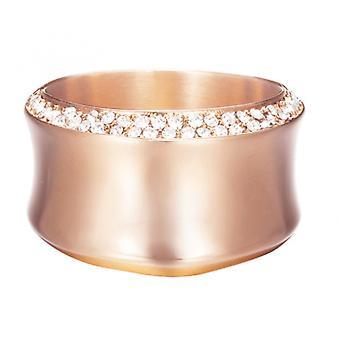 Esprit Steel Crystal Curve Rose Gold ESRG12542