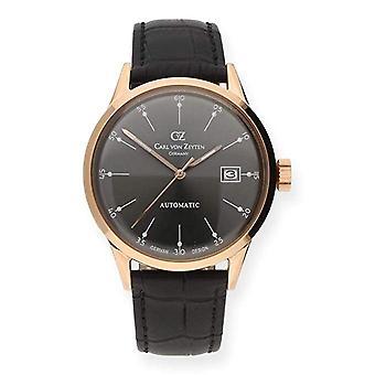 Carl of Zeyten men's watch wristwatch automatic Eschenz CVZ0002RGU