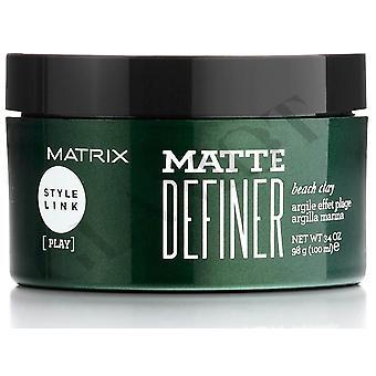 Matrix Style Link Spiel Matte Definer Strand Ton 100ml