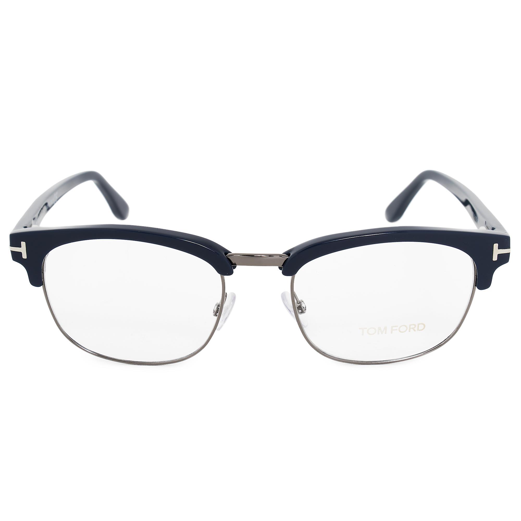 Tom Ford FT5458 090 51 Square | Blue | Eyeglass Frames