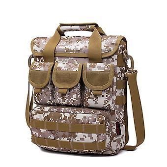 Shoulder bag in camouflage, 33x29x9 cm KX6012SHAM
