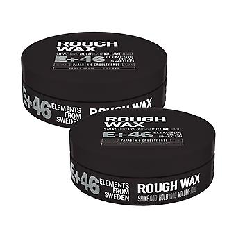 2-pack E 46 Rough WAX 100ML