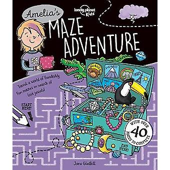Labyrinthe aventure Amelia par Lonely Planet Kids - livre 9781786574350