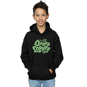 Willy Wonka And The Chocolate Factory Boys Oompa Loompa Land Hoodie