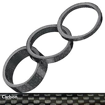 Ergotec spacer 1 1/8 inch (carbon) for ahead stem systems / / 3/5/10/20 mm