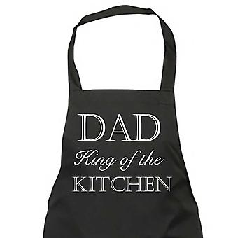 Dad King Of The Kitchen Black Apron