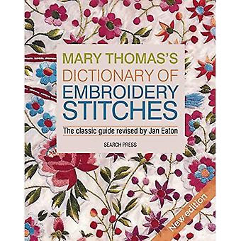 Mary Thomas ordbog af broderi sting