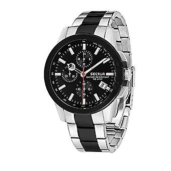 Sector Chronograph quartz men with stainless steel strap R3273797002