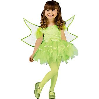 Grüne Fee Kleinkinder Kostüm