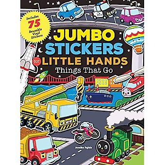 Jumbo Stickers for Little�Hands: Things That Go (Jumbo�Stickers for Little Hands)