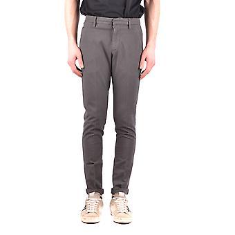 Dondup Ezbc051073 Men's Brown Cotton Pants