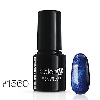 Gellack-Color IT-Premium-Cat Eye-* 1560 UV Gel/LED