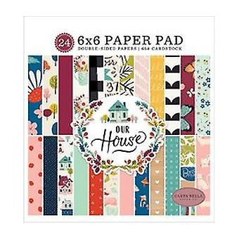 Carta Bella Our House 6x6 Inch Paper Pad