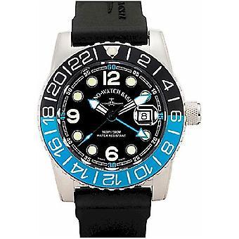 Zeno-watch Herre ur af flyvemaskine diver kvarts point 6349Q-GMT-a1-4
