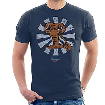 ET Extra Terrestrial Retro Japanisch Men es T-Shirt