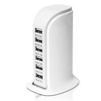 6 port Desktop lader