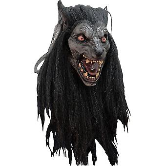 Lateksowa maska wilkołak