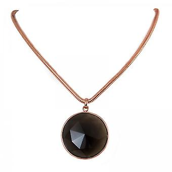 Lola Rose Smokey Obsidian Lillia Necklace  1M0083-008000
