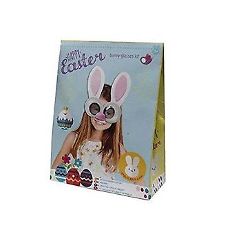 Easter Bunny Glasses Kit Arts Crafts Easter Egg Hunt Fancy Dress Costume