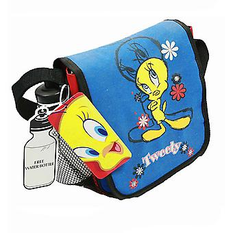 Lunch Bag - Looney Tunes - Tweety DJ w/Water Bottle New Girls Gifts 76cm02
